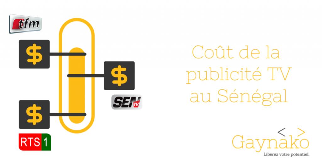 Cout de la publicité au Sénégal