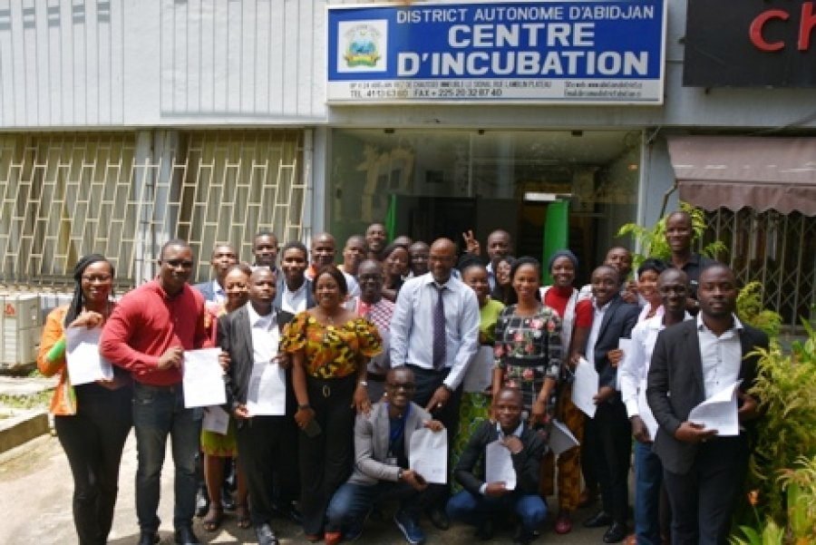 Centre d'incubation du district d'Abidjan