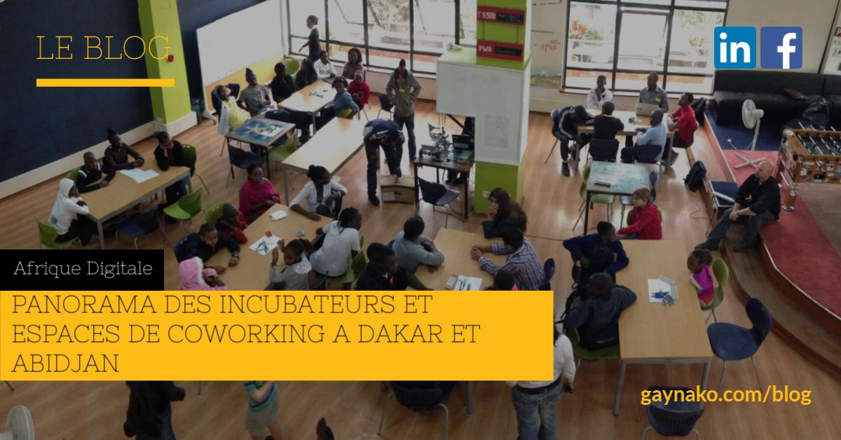 Panorama des incubateurs et espaces de coworking à Dakar et Abidjan