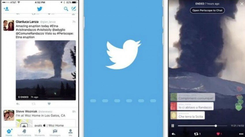 Twitter Live streaming