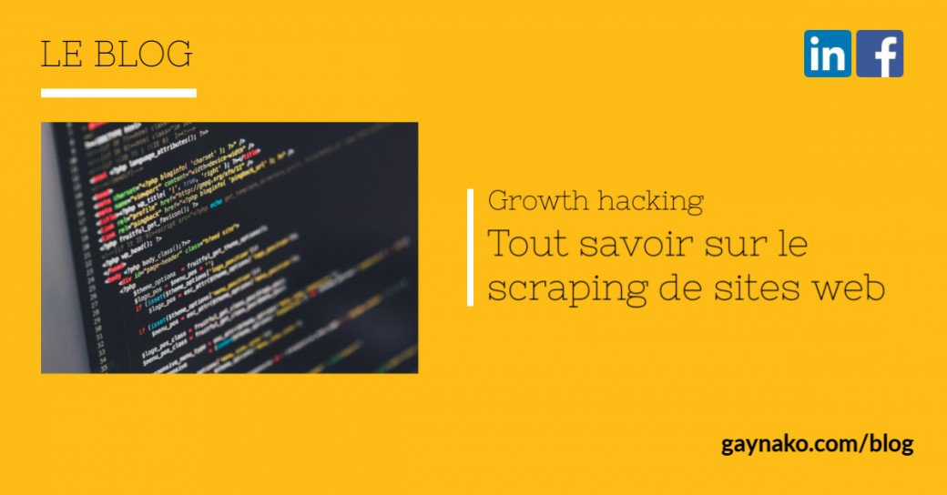 growth hacking web scraping
