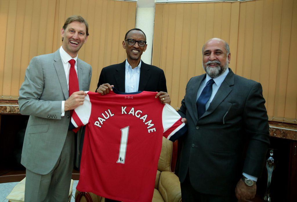 kagame rwanda arsenal