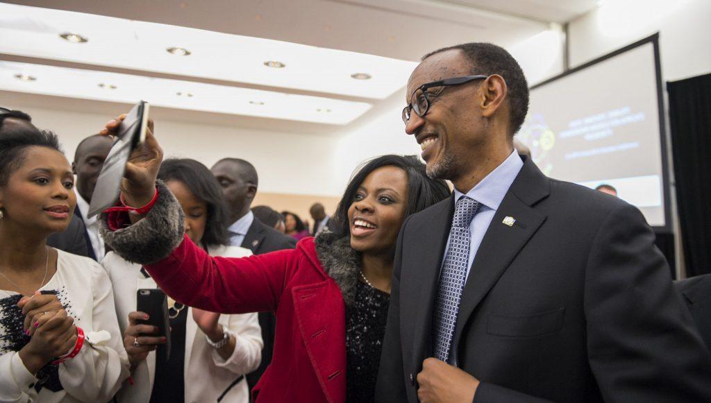 kagame selfie