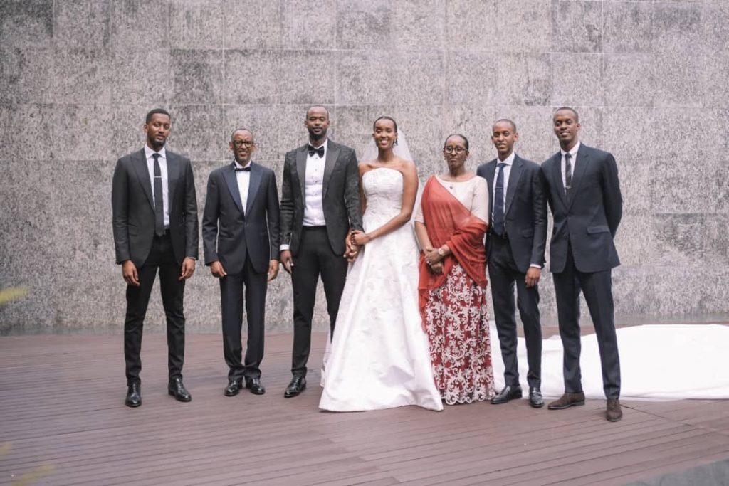 ange kagame mariage