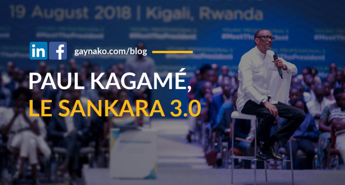 Paul Kagame, Le Sankara 3.0 : Une analyse du branding en politique
