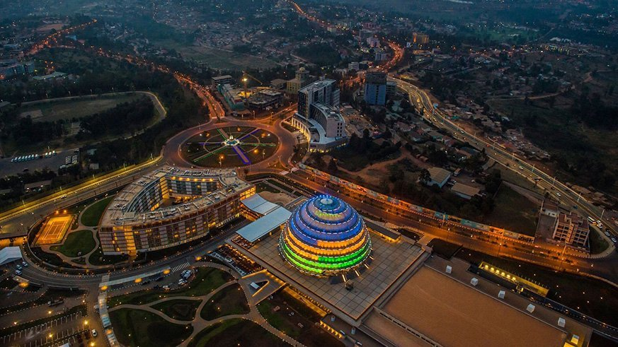 kigali infrastructure rwanda kagame