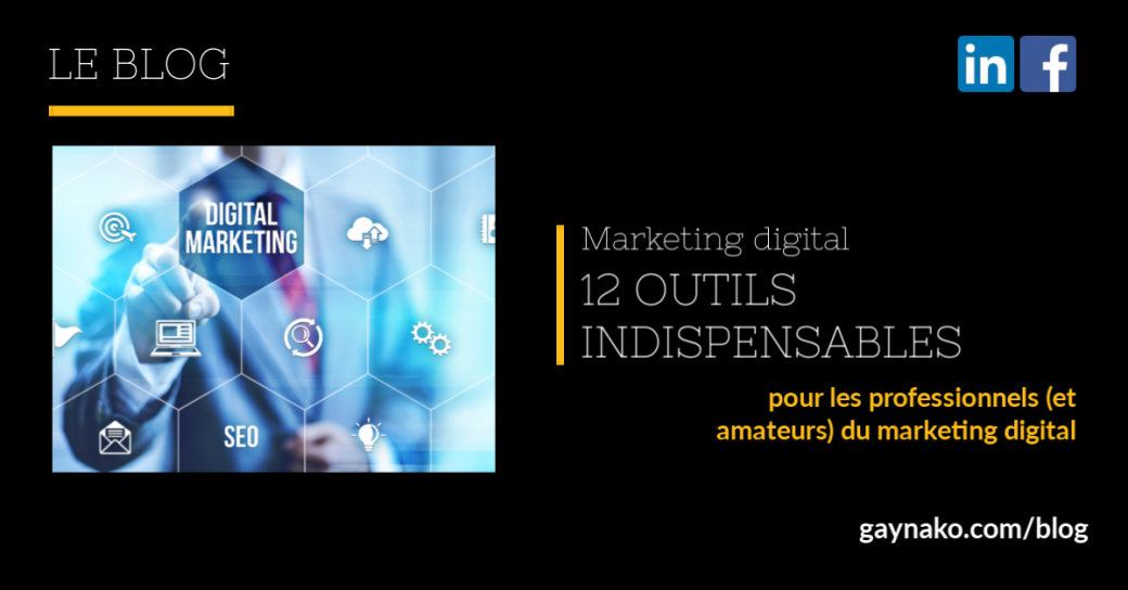 marketing digital outils