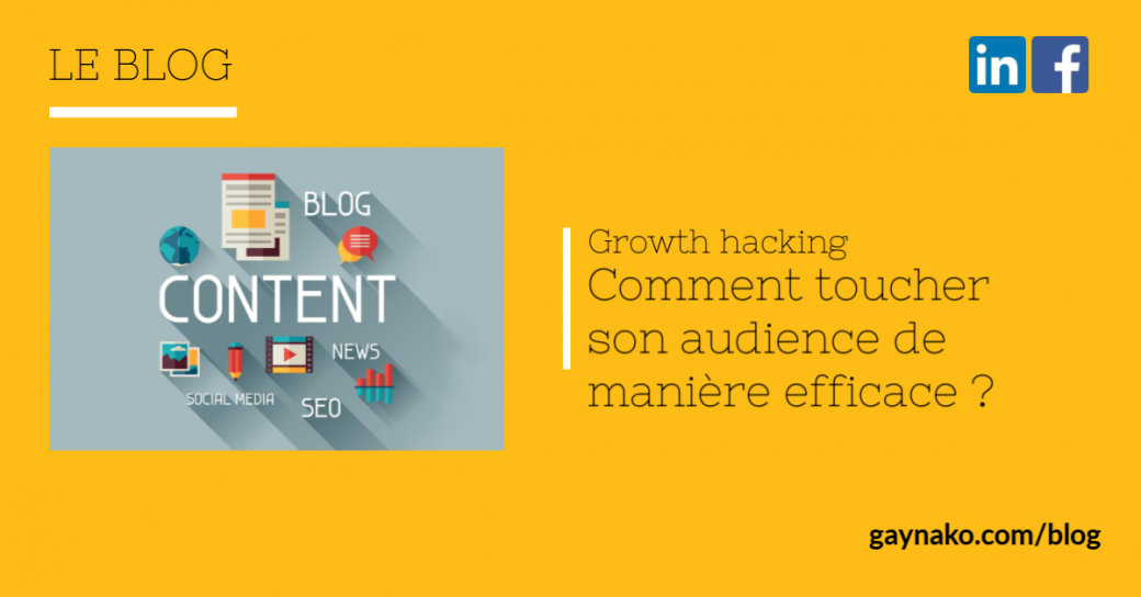 growth hacking marketing de contenu
