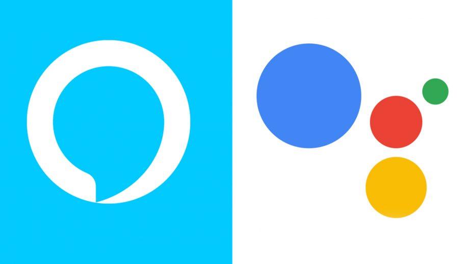 Alexa et Google Assistant