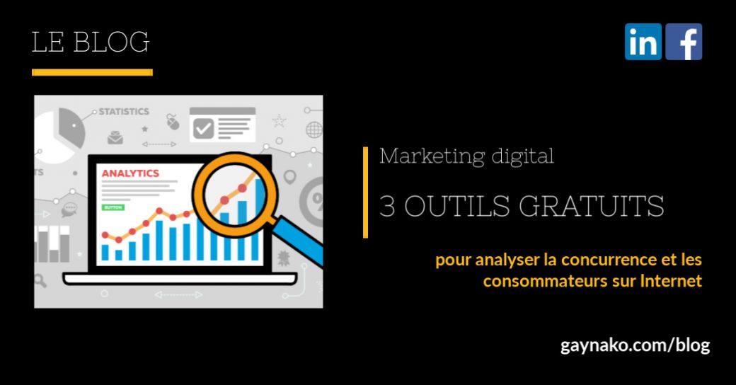 marketing digital analyse marché