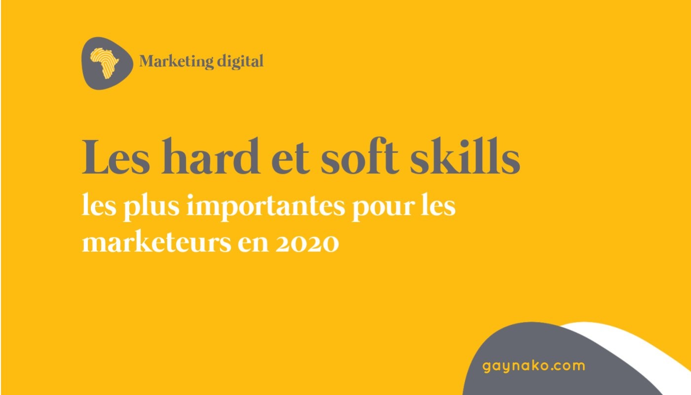 marketing digital compétences
