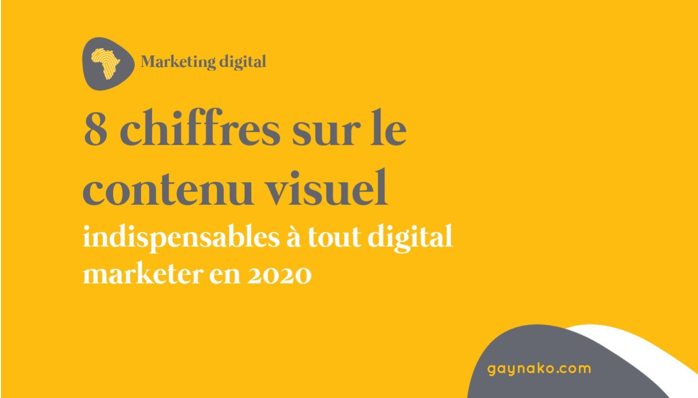 8 chiffres sur le contenu visuel indispensables à tout digital marketer en 2020
