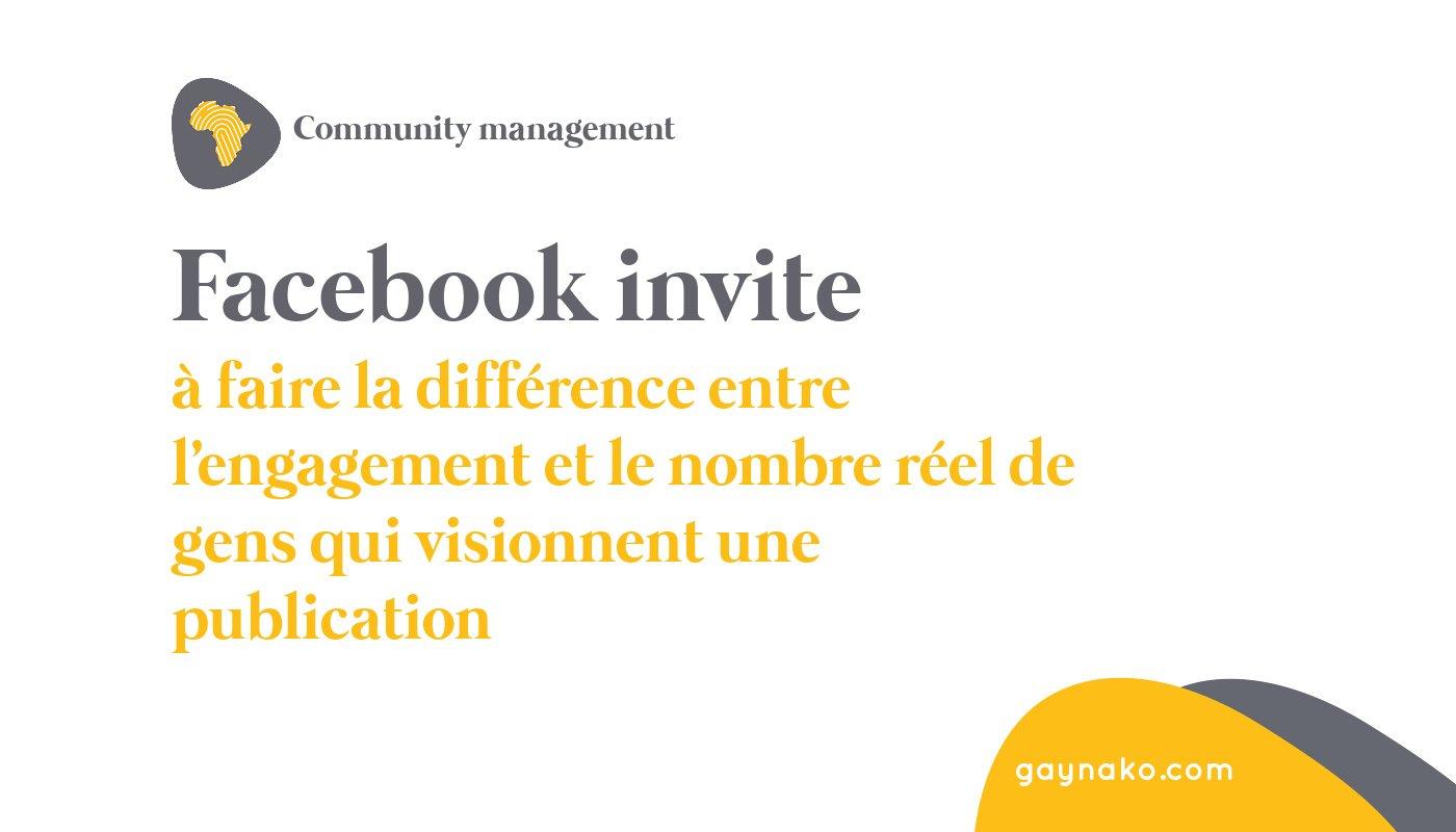 facebook engagement visionnage